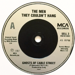 "Men They Couldn't Hang ‎(The) - Ghosts Of Cable Street (7"") (EX/NM)"